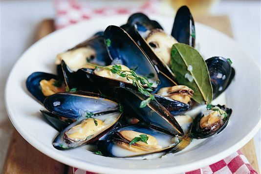 Puy-Leonard French Fabulous Foods Summer Moules-Marinières