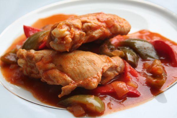 Puy-Leonard French Fabulous Foods Winter Poulet-Basquaise