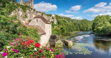 Puy-Leonard Poitou-Charentes-Angles-sur-Anglin