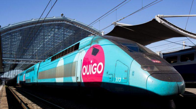 Puy-Leonard OUIGO Train