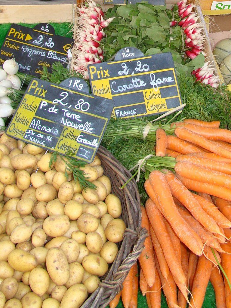 Puy-Leonard Pommes de terre Ile de Ré