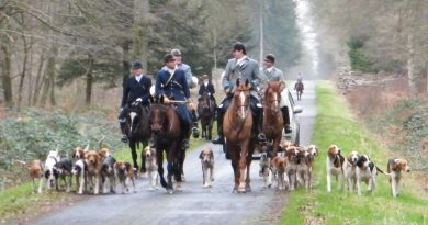 The hunting season in France: La chasse à courre