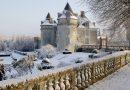 Puy-Leonard Winter Landscape