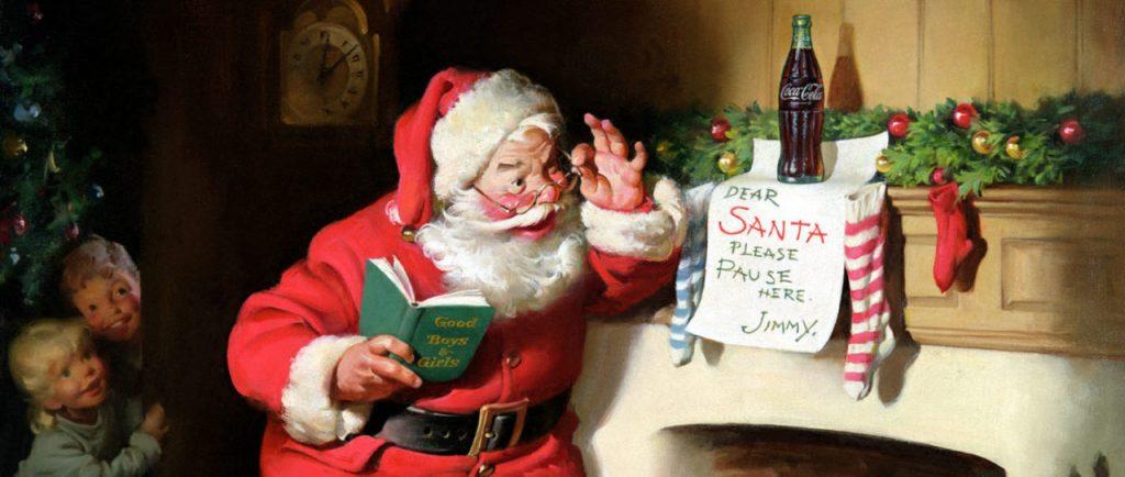 Puy-Leonard Santa Claus Coca Cola